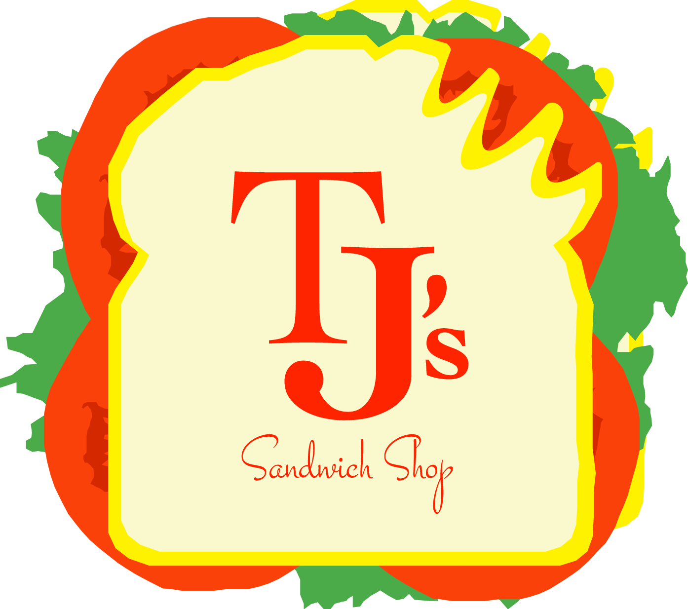 Open faced turkey sandwich clipart svg freeuse TJ's Sandwich Shop svg freeuse