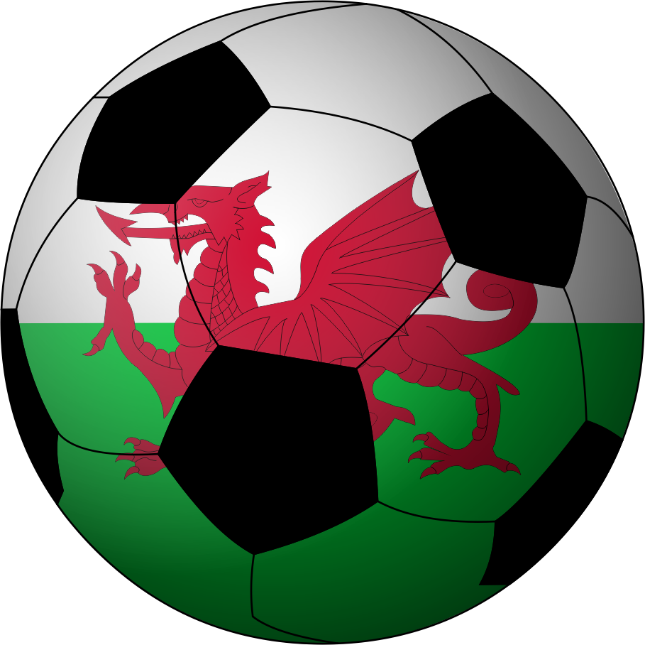 Open football clipart graphic transparent File:Football Wales.png - Wikimedia Commons graphic transparent
