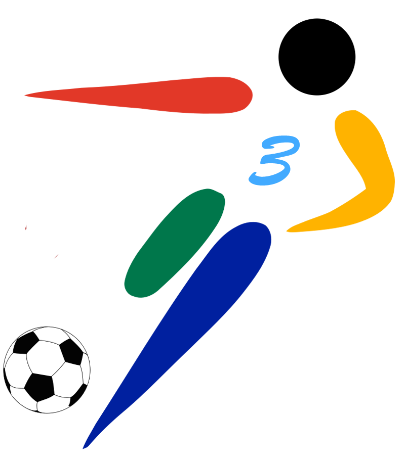 Open football clipart png freeuse stock File:Football pictogram hat-trick.png - Wikimedia Commons png freeuse stock