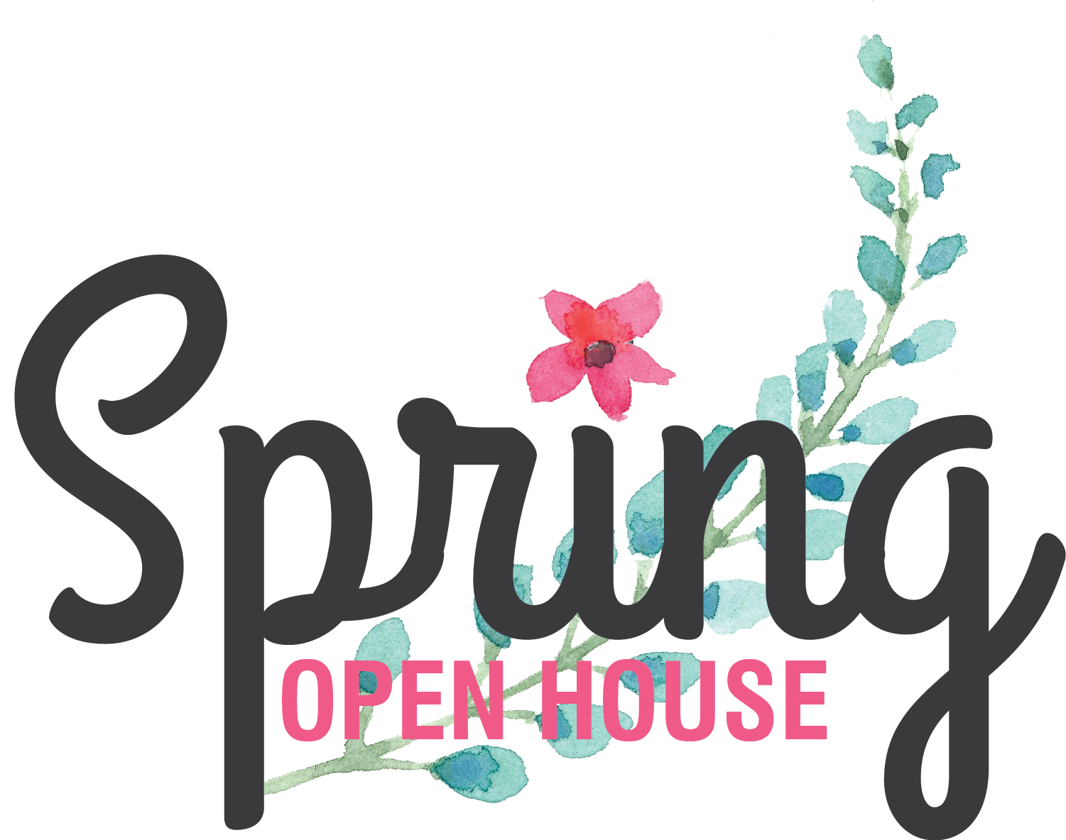 Open house free clipart jpg transparent library Spring Open House 2017Downtown Lee's Summit Main Street jpg transparent library