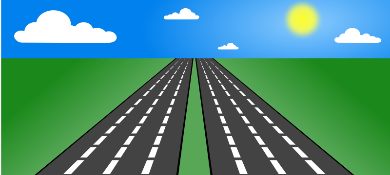 Open road clipart clip freeuse download Free Clipart: Open road | IncessantBlabber clip freeuse download
