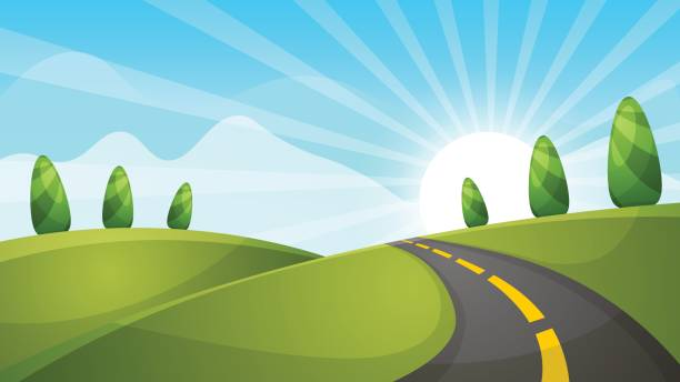 Open road clipart vector freeuse stock Open Road Cliparts 3 - 612 X 344 - Making-The-Web.com vector freeuse stock