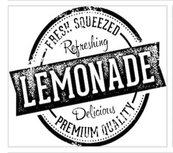 Open-air veranda clipart picture transparent Vintage Lemonade picture transparent