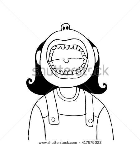 Opened mouth clipart upward clip art library download Upward opened mouth clipart - ClipartFest clip art library download