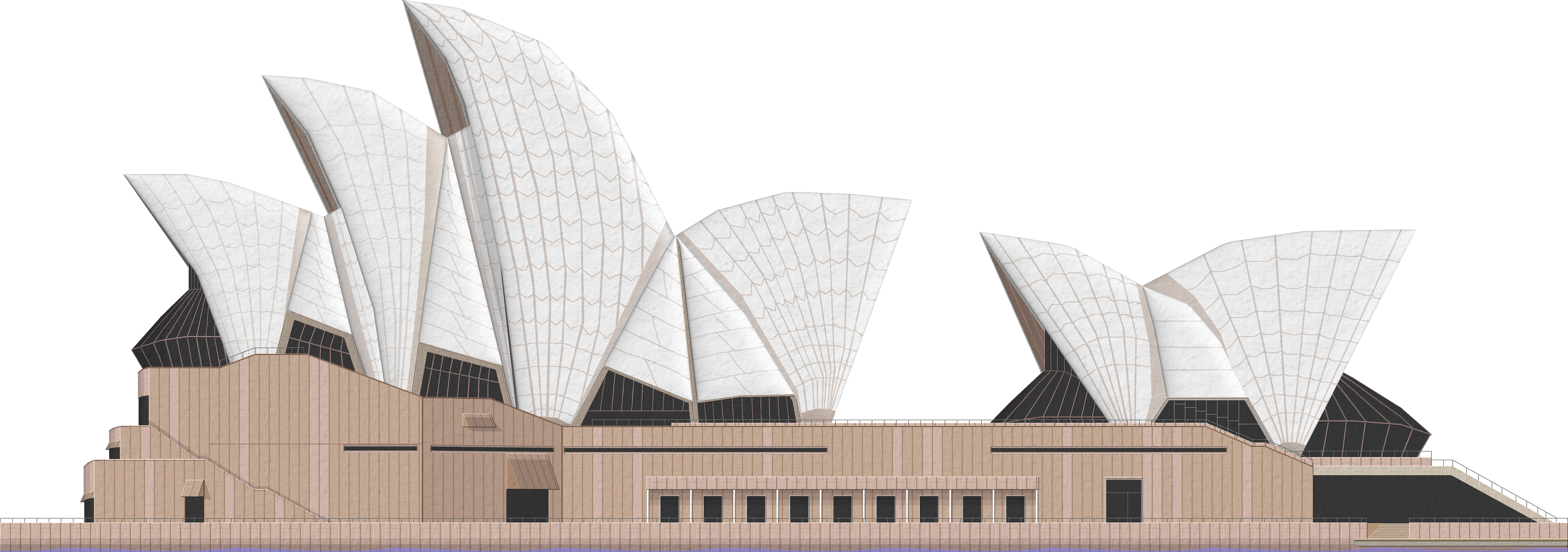 Opera house clipart clipart black and white library Sydney Opera House PNG File | PNG Mart clipart black and white library