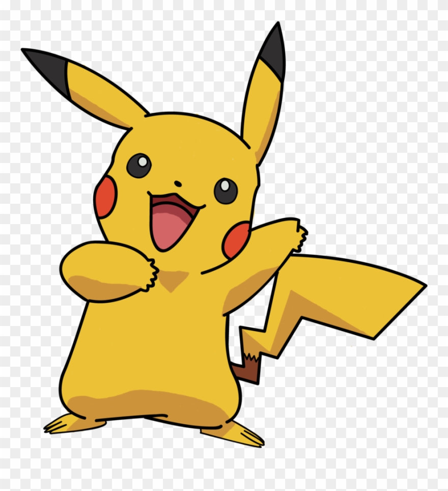 Opikachu clipart royalty free Pokemon Pikachu Clipart (#355110) - PinClipart royalty free