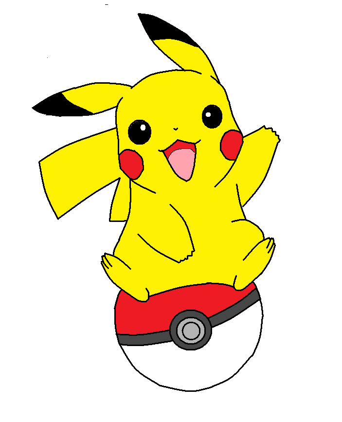 Opikachu clipart graphic royalty free Pikachu Clipart - ClipArt Best | Poke\'mon | Pikachu drawing, Pikachu ... graphic royalty free