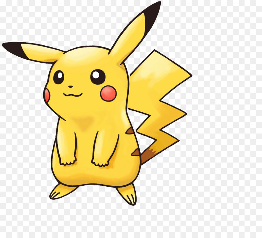 Opikachu clipart jpg library download Ash And Pikachu clipart - Yellow, Rabbit, Font, transparent clip art jpg library download