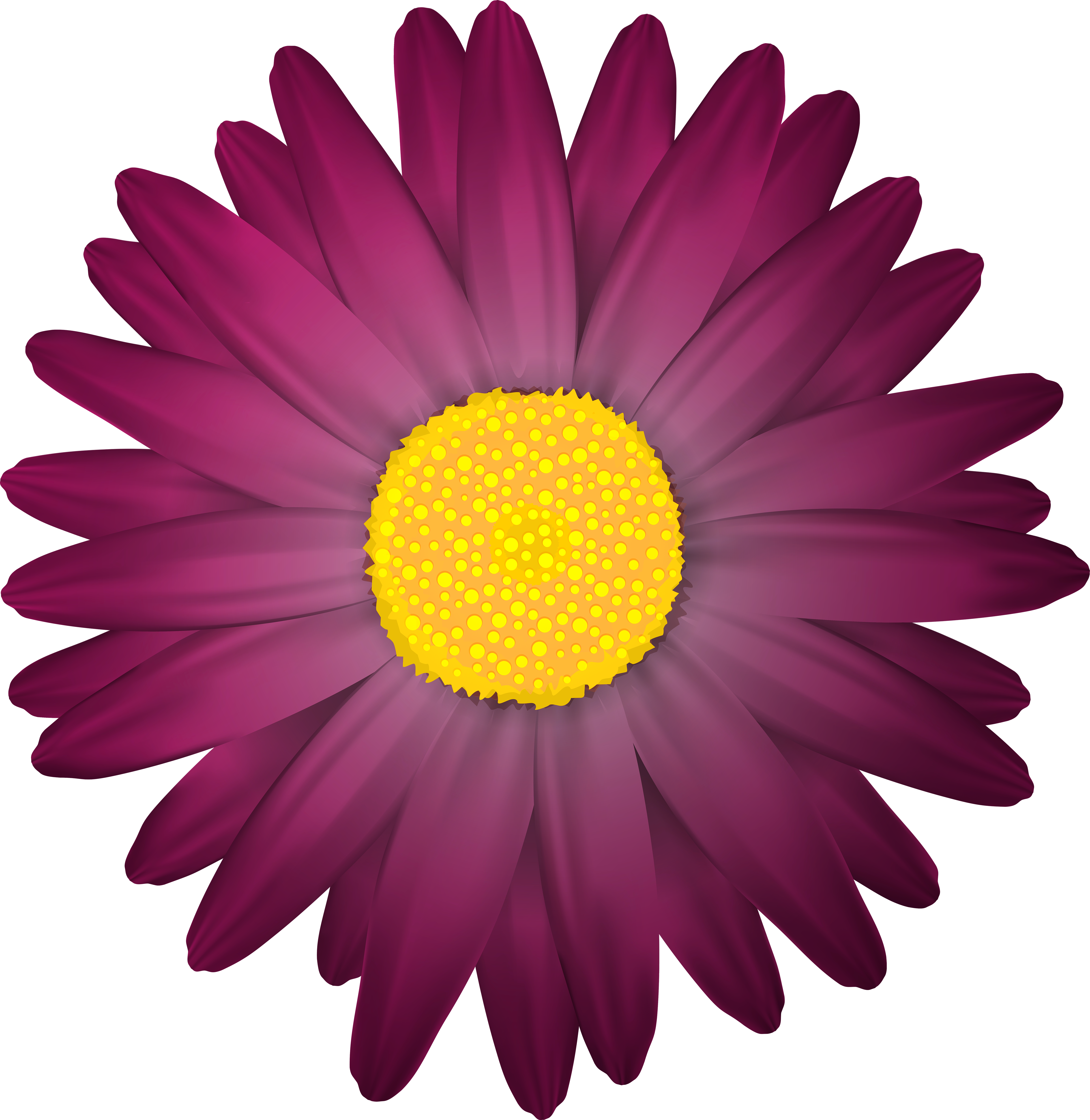 Orange and purple flower clipart clip art royalty free stock Dark Flower Transparent PNG Clip Art Image | Gallery Yopriceville ... clip art royalty free stock