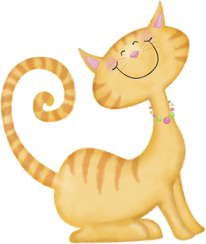 Orange and yellow cat clipart clip art royalty free Here Kitty Kitty | Kitty, Cat and Clip art clip art royalty free
