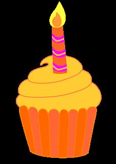 Orange birthday cake clipart graphic royalty free download Classroom Treasures: Clip Art graphic royalty free download