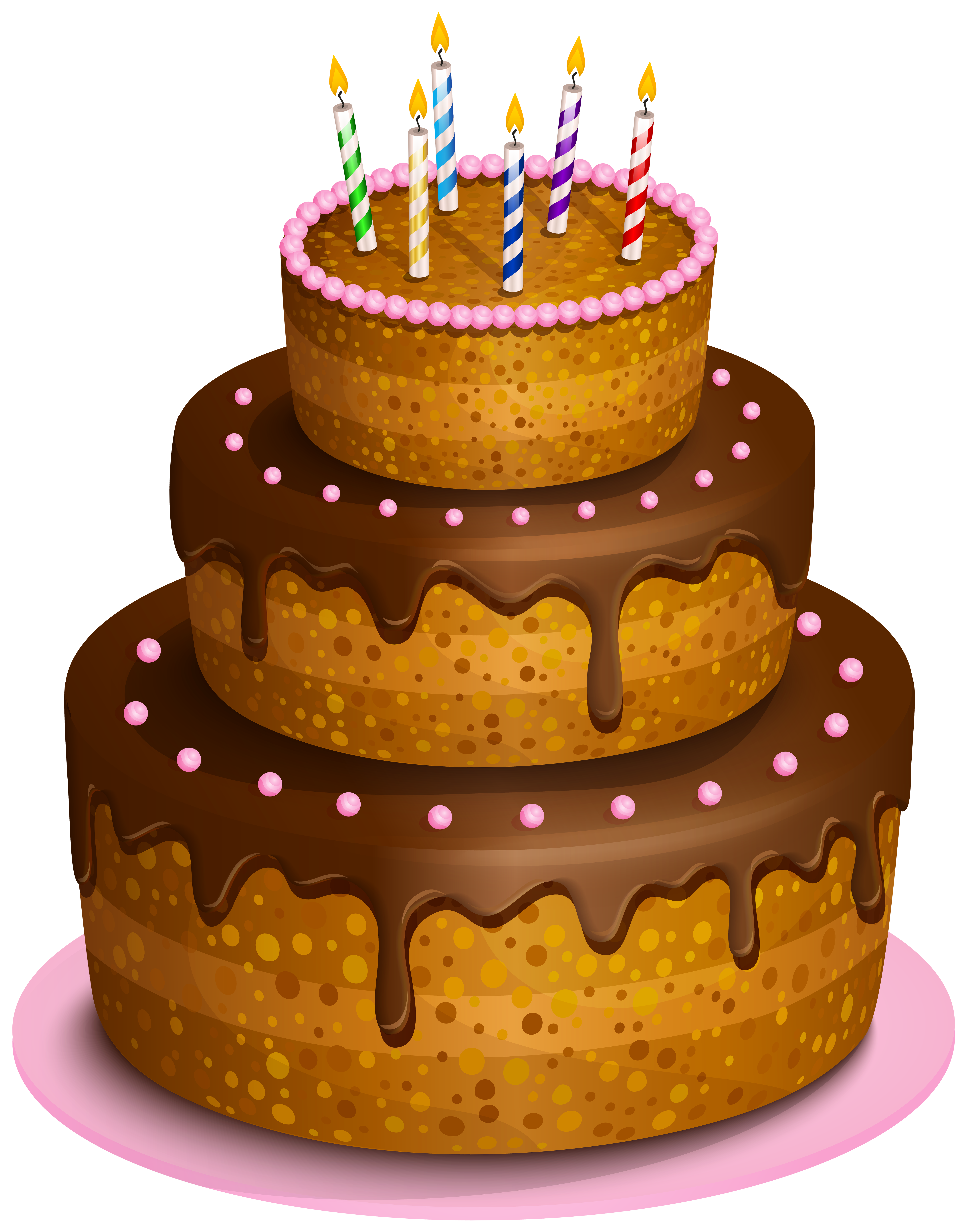 Birthday cake free clipart picture royalty free stock Birthday Cake Transparent PNG Clip Art Image picture royalty free stock