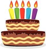 Orange birthday cake clipart clip art freeuse download Free Birthday Cake Clip Art | Clipart Panda - Free Clipart Images clip art freeuse download