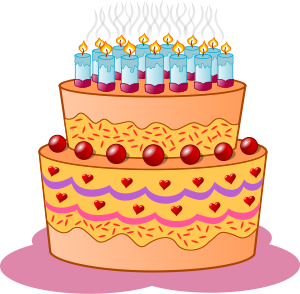 Orange birthday cake clipart clipart download Orange birthday cake clipart - ClipartFest clipart download