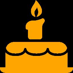 Orange birthday cake clipart graphic download Free orange birthday cake icon - Download orange birthday cake icon graphic download