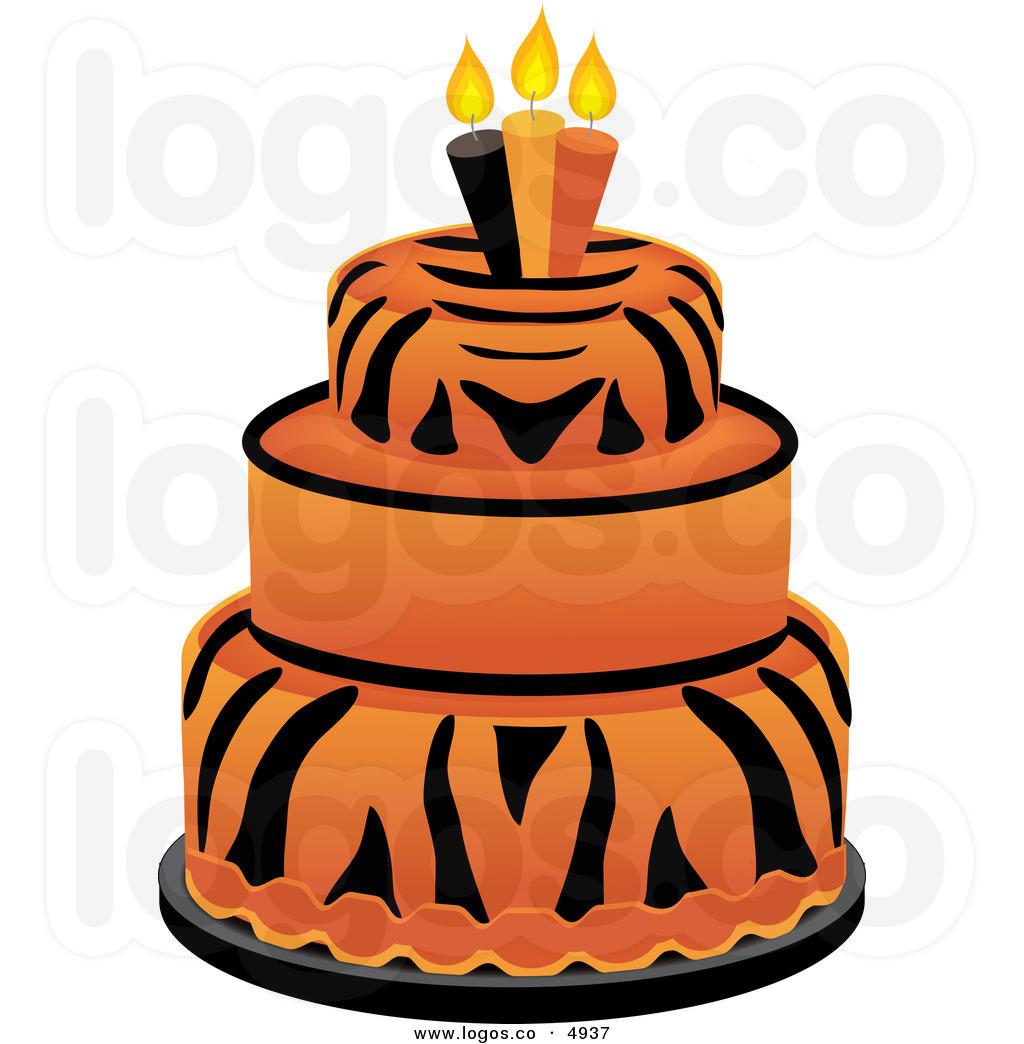 Orange birthday cake clipart clip art freeuse download Orange birthday cake clipart - ClipartFest clip art freeuse download