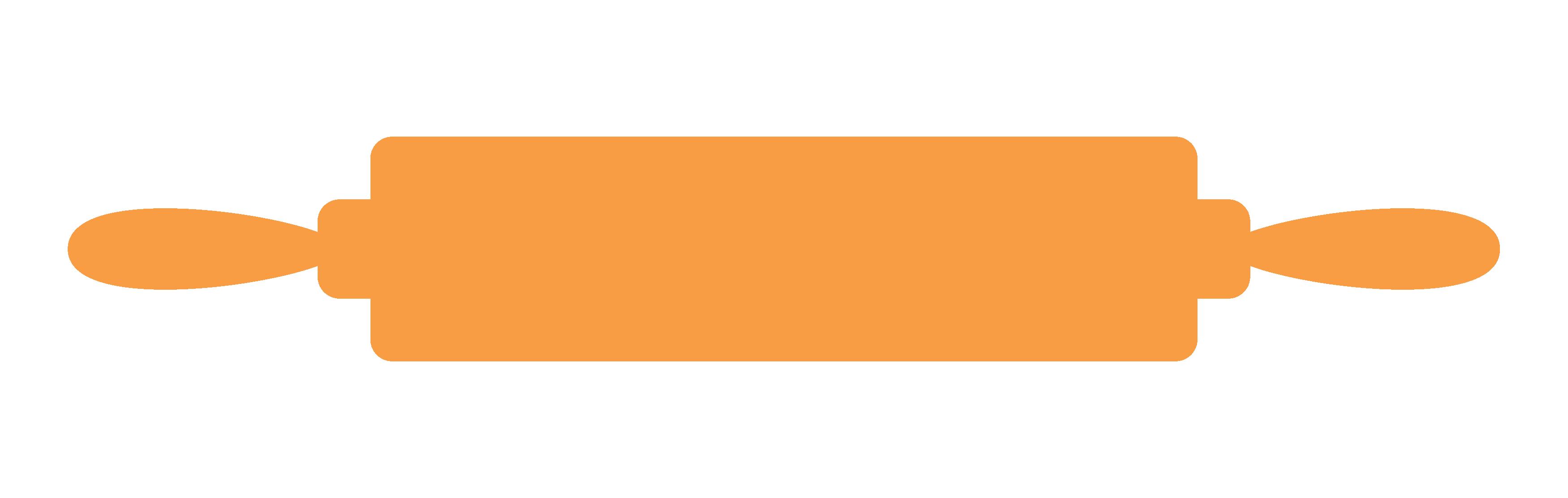 Orange book clipart graphic royalty free stock CC Kitchen Utensils Clip Art-Rolling Pin - Zen & Spice graphic royalty free stock