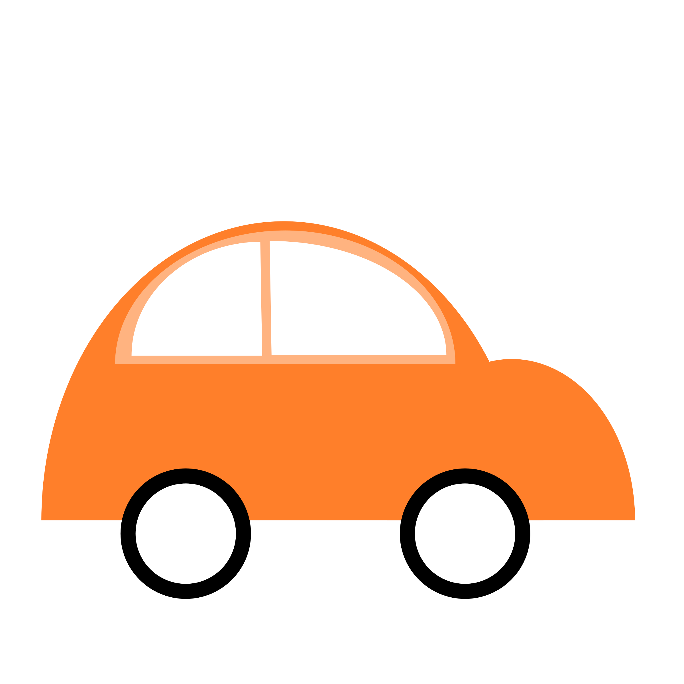 Library Of Orange Car Clipart Freeuse Library Png Files