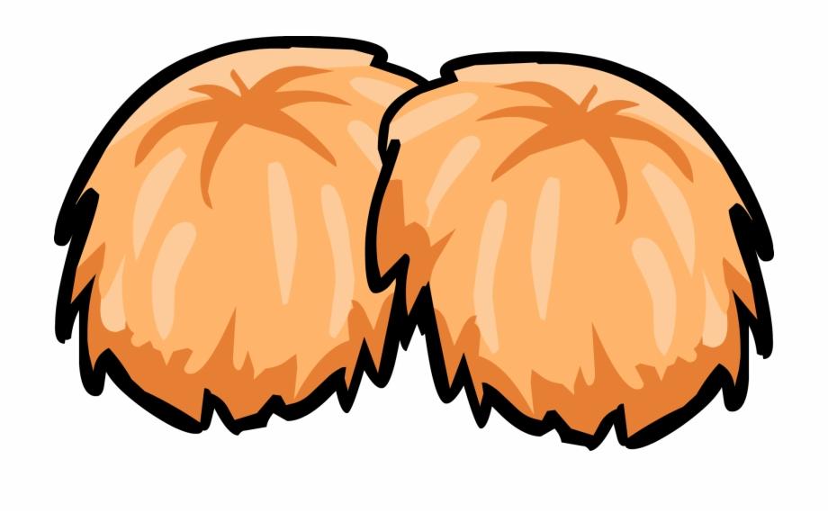 Orange cheer pom clipart svg freeuse download Orange Pom Poms - Red Pom Pom Clipart, Transparent Png Download For ... svg freeuse download