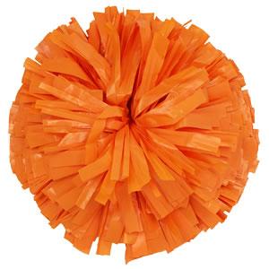 Orange cheer pom clipart svg stock Plastic Colors - Orange svg stock