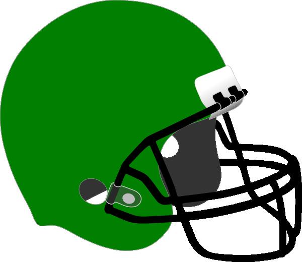 Orange football helmet clipart vector royalty free library Green Football Helmet Clip Art at Clker.com - vector clip art online ... vector royalty free library
