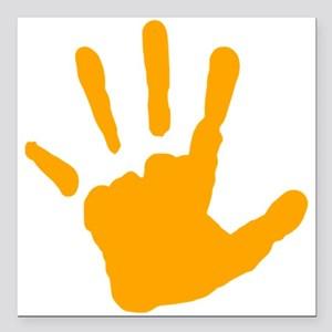 Orange handprint clipart vector transparent library Handprint Clipart orange 1 - 300 X 300 Free Clip Art stock ... vector transparent library