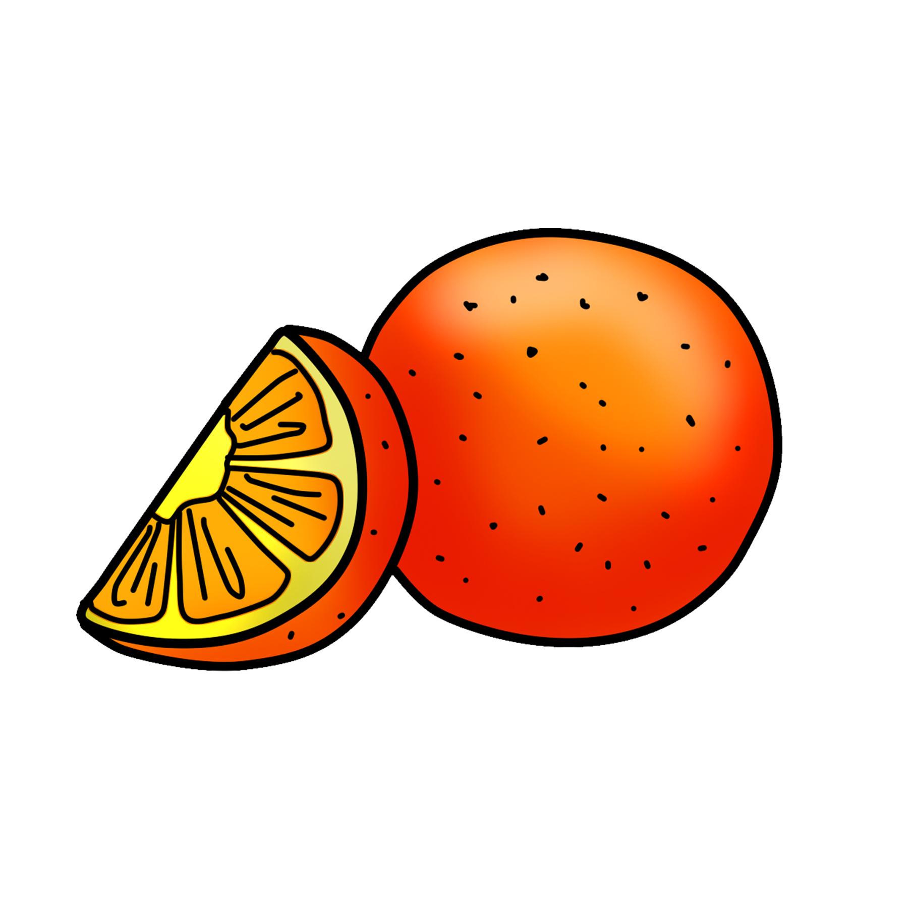 Orange pictures clipart jpg freeuse download Orange Clipart Graphic PNG Download | Clipart 4 School jpg freeuse download
