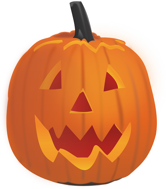 Orange pumpkin clipart black backround jpg free library Free pictures HALLOWEEN - 689 images found jpg free library