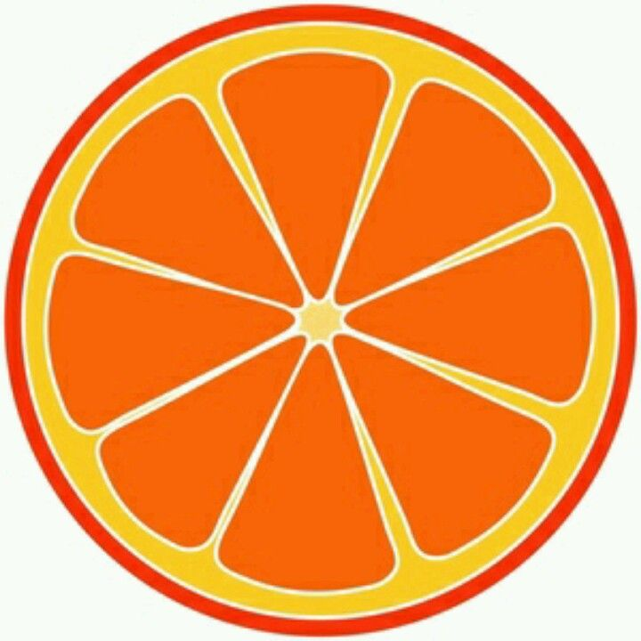 Orange sliced clipart clipart royalty free Pin by Jacque Brown on Nothing Rhymes With Orange | Orange ... clipart royalty free