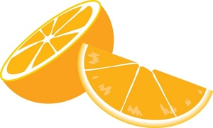Orange sliced clipart jpg free stock Orange Slice Clipart | Clipart Panda - Free Clipart Images jpg free stock