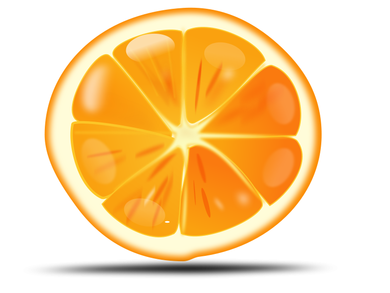 Orange sliced clipart svg library Free clip art \