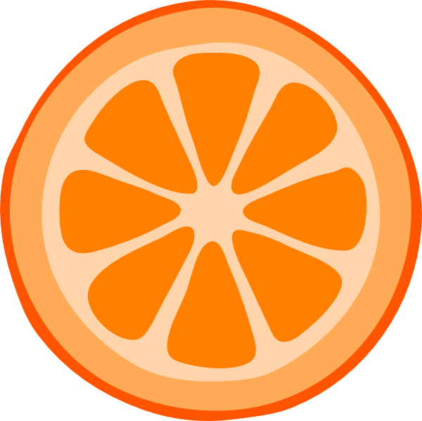 Orange sliced clipart banner library download Orange Slice Clipart Clip Art Vector Online free image banner library download