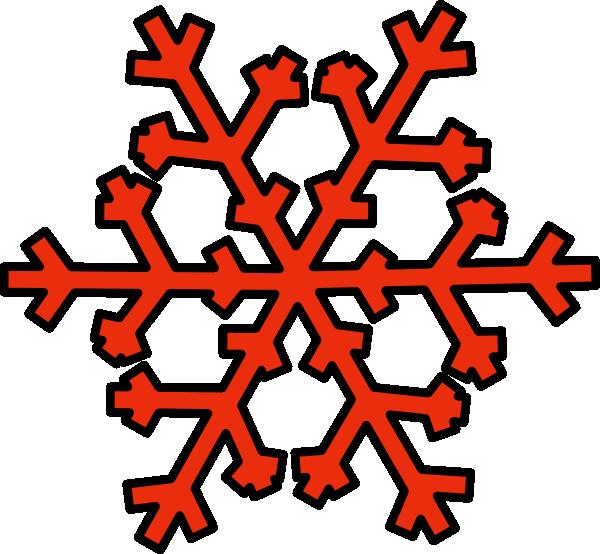 Orange snowflake clipart png free download Orange Snowflake Clip Art at Clker.com - vector clip art online ... png free download