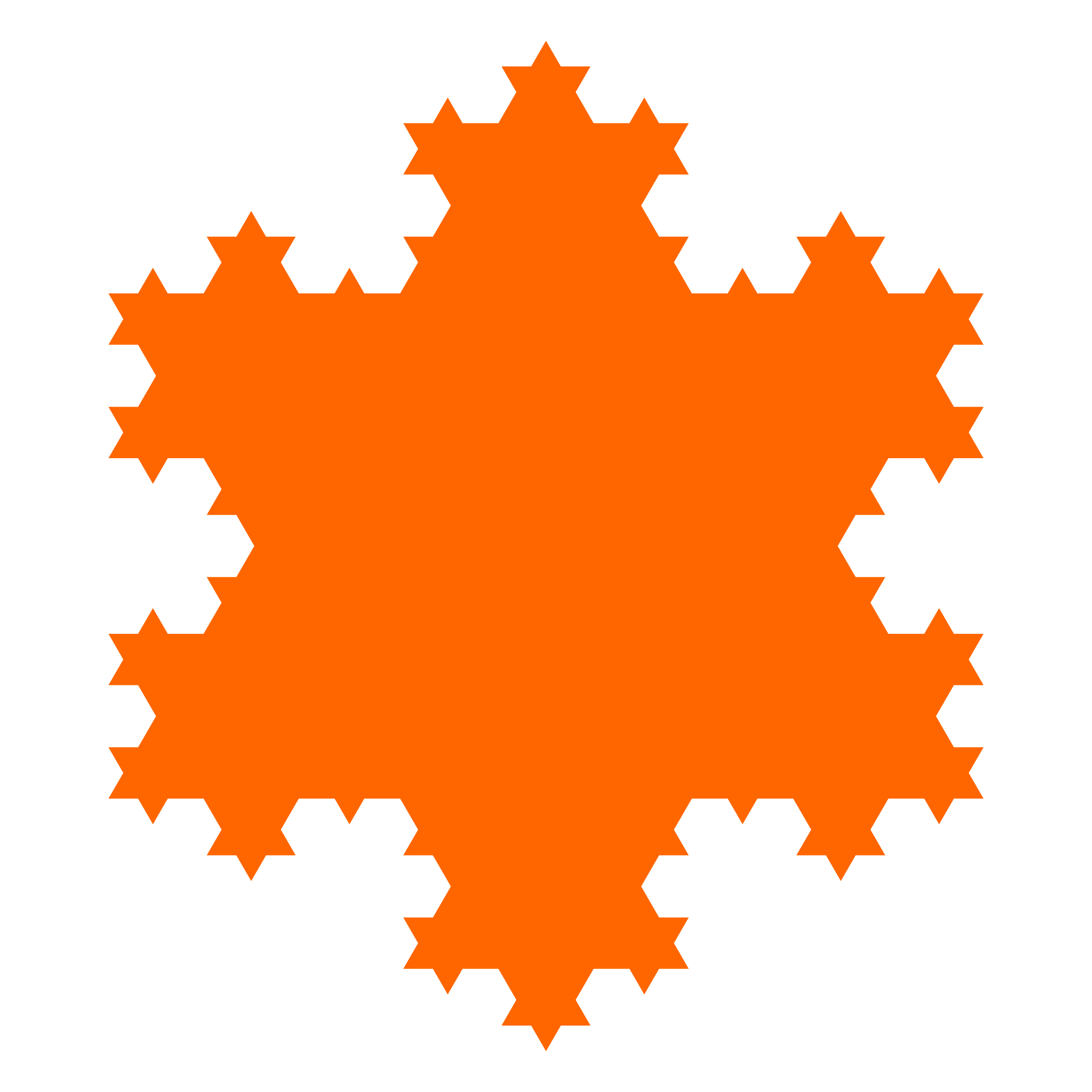 Orange snowflake clipart vector black and white library Clipart - snowflake curve vector black and white library