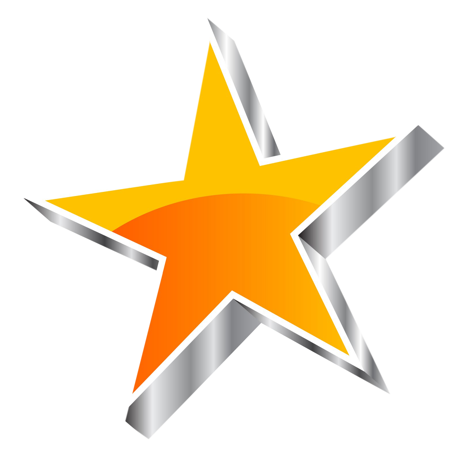 Orange star clipart graphic transparent Star png, Star png images download free graphic transparent