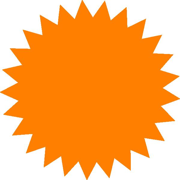 Orange star clipart svg download Red Sun Star Clip Art at Clker.com - vector clip art online, royalty ... svg download