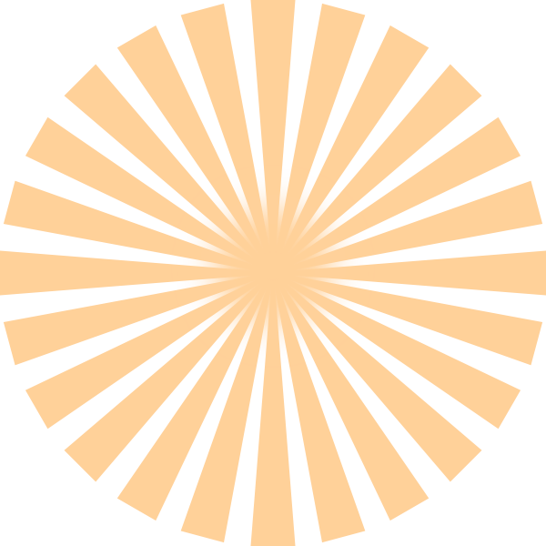Orange sun rays clipart svg freeuse library Sun Rays Clip Art at Clker.com - vector clip art online, royalty ... svg freeuse library