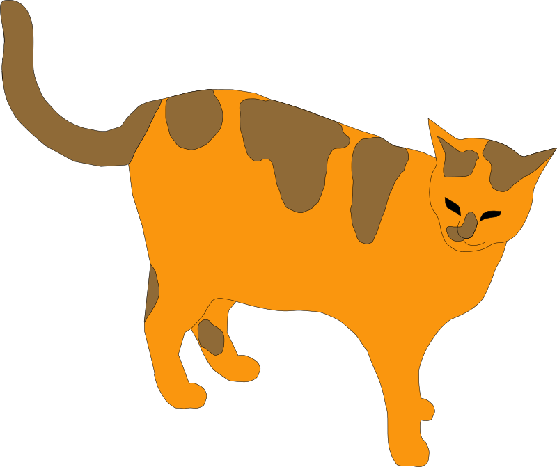 Orange tabby cat clipart clip library Surrogate Tapping for Cat- Molly - EFT Helps clip library