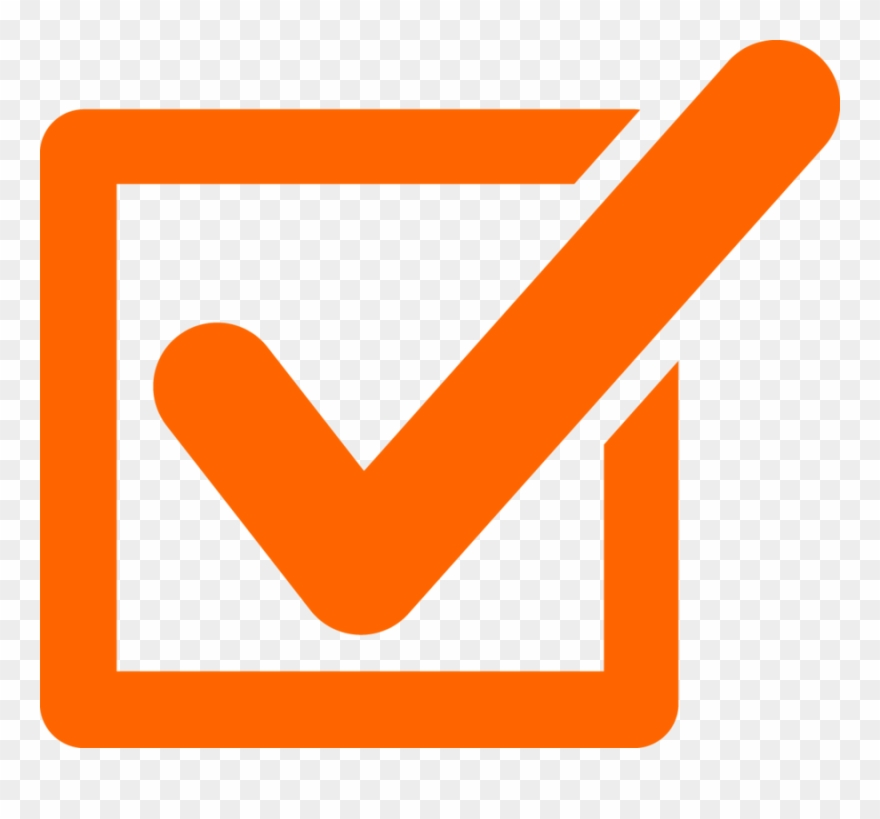 Orangecheckmark clipart vector download Orange Checkmark Clipart Check Mark Clip Art - Tick Mark Png Orange ... vector download