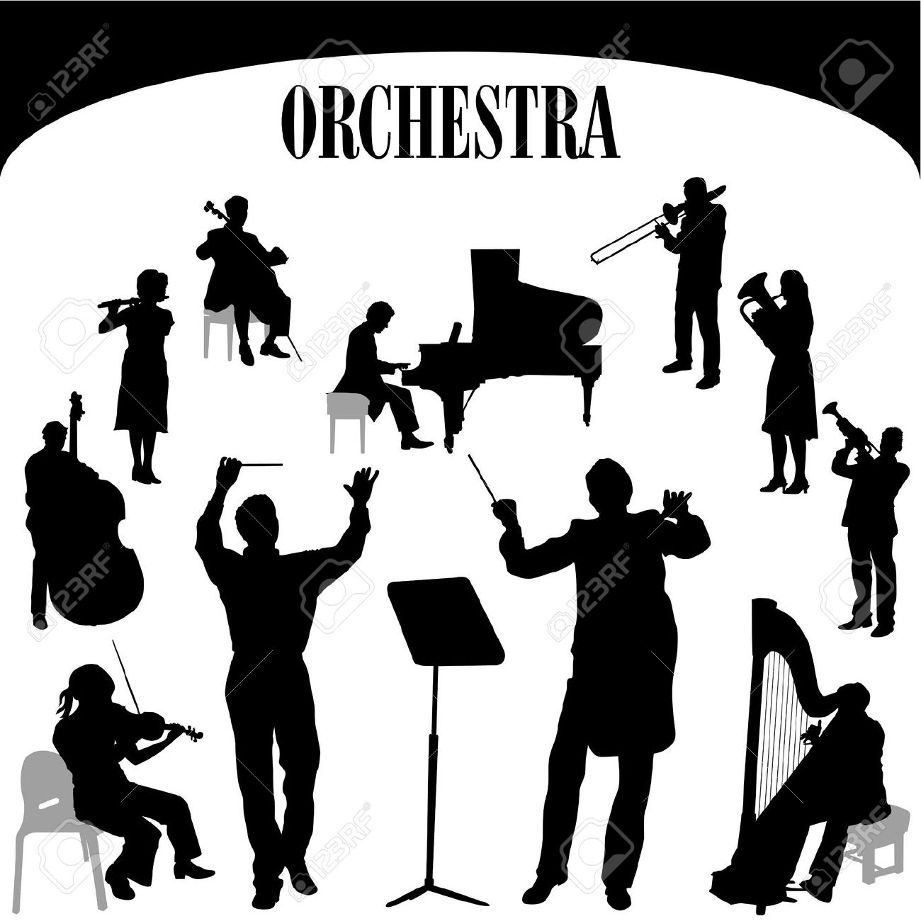 Orchestras clipart clipart free download Free Orchestra Cliparts, Download Free Clip Art, Free Clip ... clipart free download