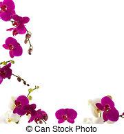 Orchid border clipart image freeuse library Beautiful orchid border Illustrations and Clipart. 591 ... image freeuse library