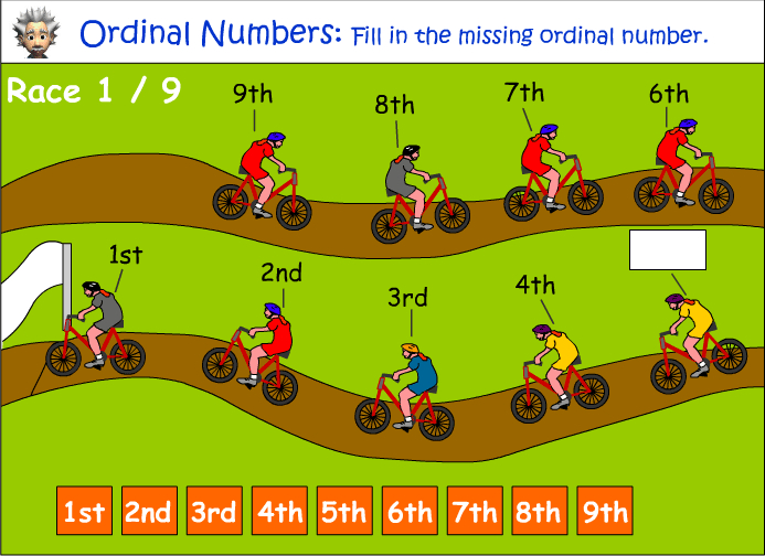 Ordinal numbers 1 10 clipart jpg stock Ordinal numbers clipart - ClipartFest jpg stock
