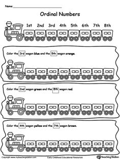 Ordinal numbers 1 10 clipart clipart transparent library Ordinal numbers match up worksheet | print it out | Pinterest | To ... clipart transparent library