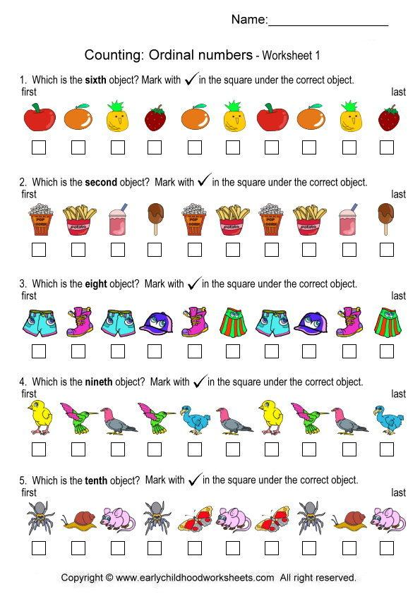 Ordinal numbers 1 10 clipart clip library download Ordinal numbers worksheet clipart - ClipartFox clip library download