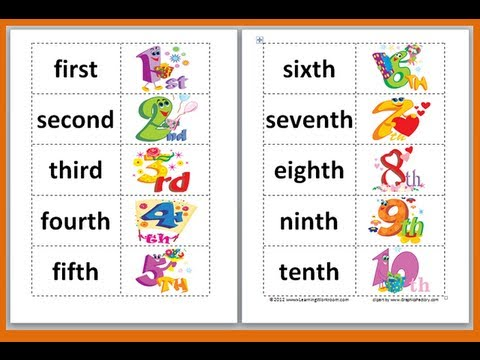Ordinal numbers 1 10 clipart clipart freeuse library Ordinal Number 1 20 - Laptuoso clipart freeuse library
