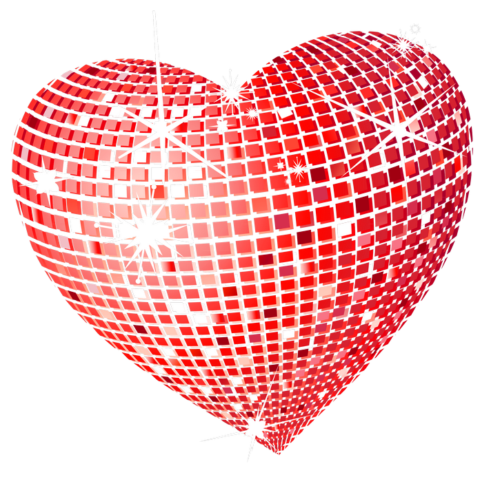 Pattern heart clipart jpg royalty free stock Red Disco Heart PNG Clipart Picture | Gallery Yopriceville - High ... jpg royalty free stock