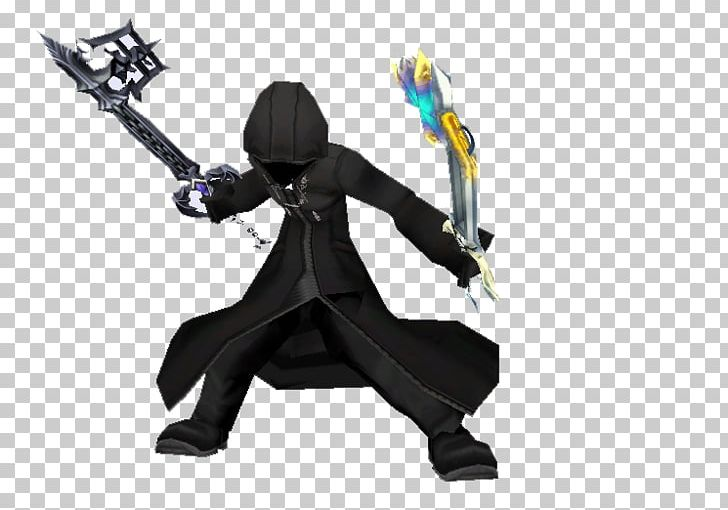 Organization xiii clipart banner black and white stock Roxas Organization XIII Cloak Hood Dual Wield PNG, Clipart ... banner black and white stock