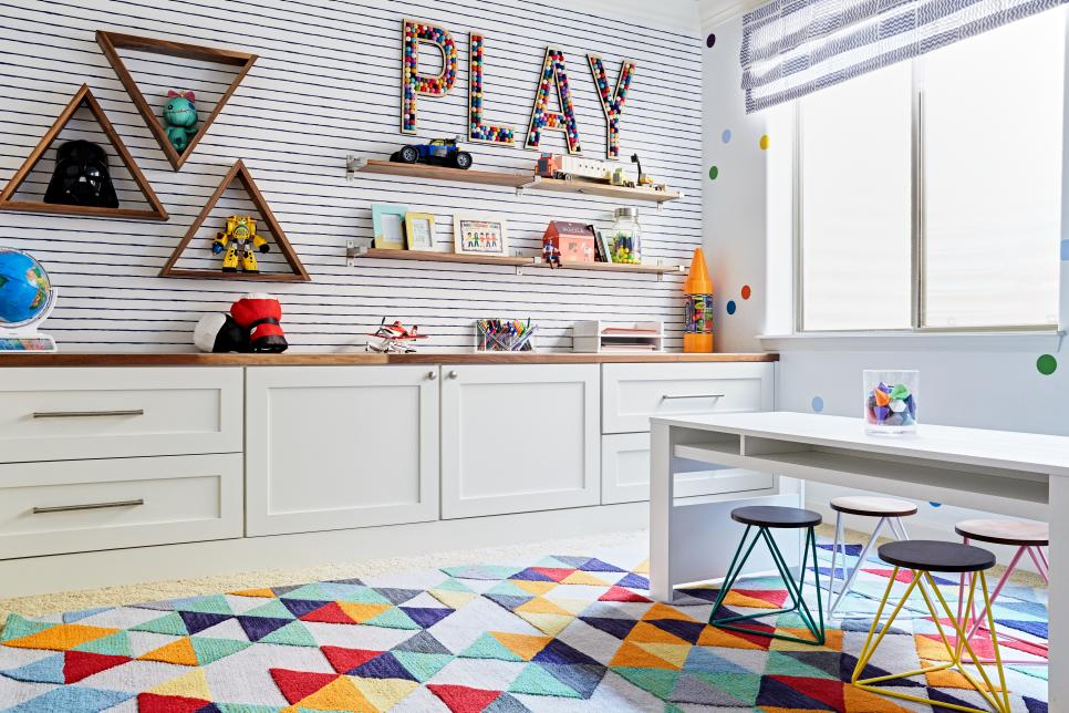 Organized toy room clipart picture freeuse download 20 Toy Storage Ideas for Your Family Room | HGTV picture freeuse download