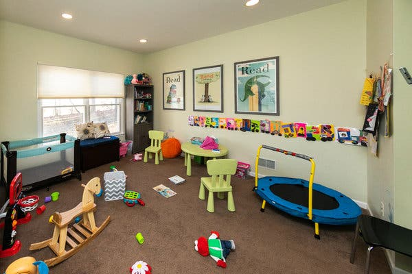 Organized toy room clipart banner transparent download Can a Playroom Makeover Make My Kids Over? - The New York Times banner transparent download