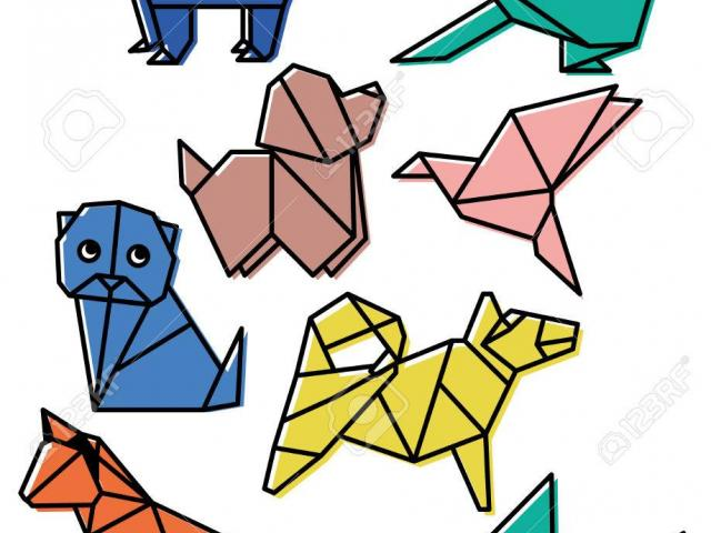Origimi clipart clip library stock Free Origami Clipart, Download Free Clip Art on Owips.com clip library stock